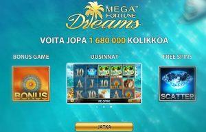 mega_fortune_dreams_ilmaiskierrokset