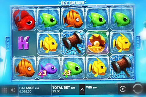 push gaming ice breaker kolikkopeli
