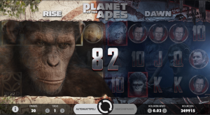 kolikkopeli-planet-of-the-apes